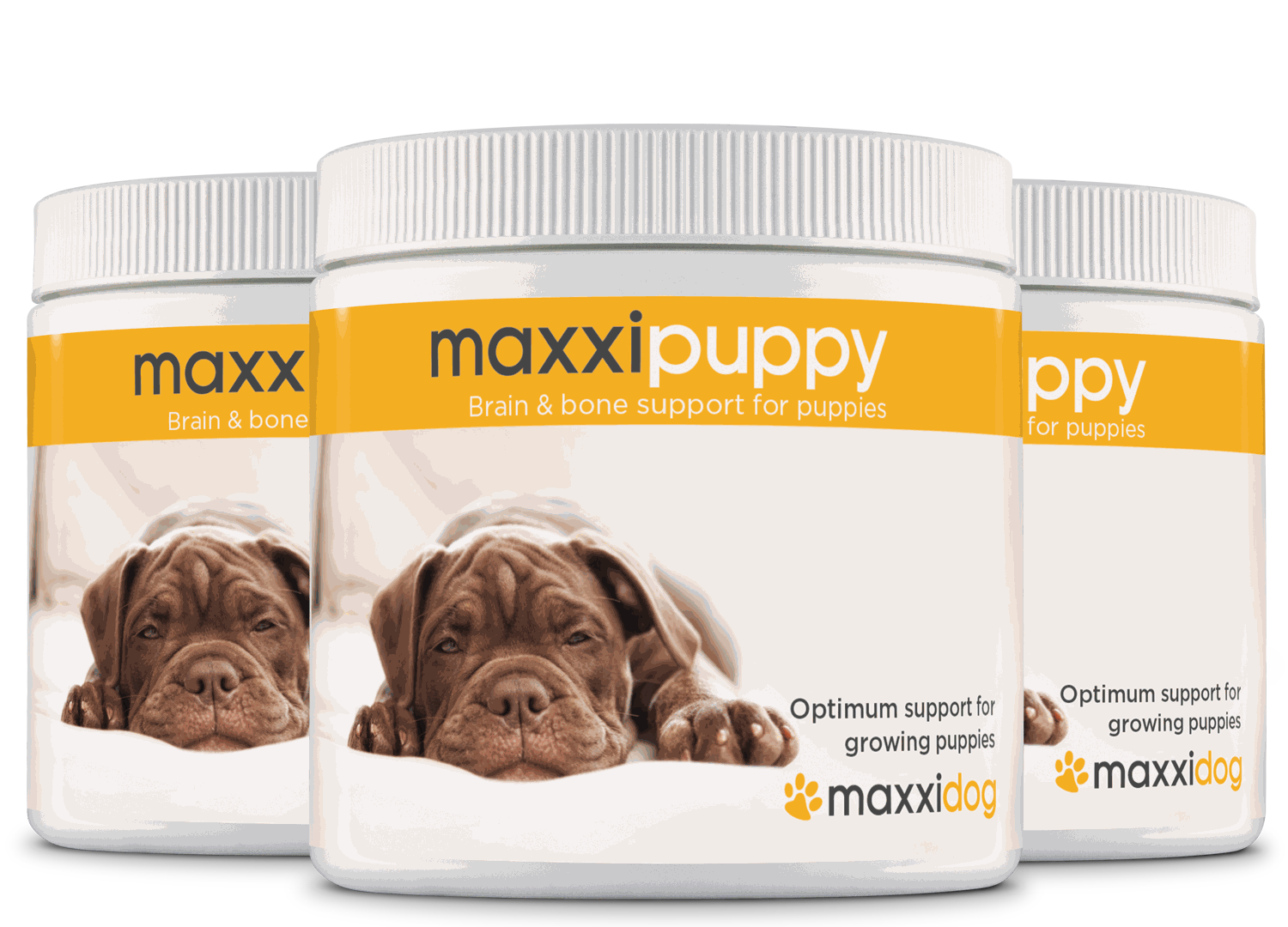 maxxipuppy for dogs-3 bottles